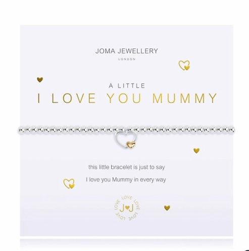 I love you mummy bracelet