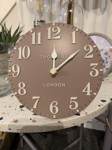 """6"""" Mantle Clock - Clay"""