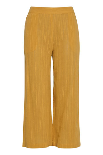 Amber Trousers - Golden Yellow