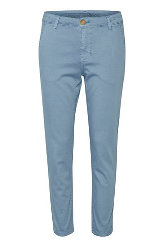 Alba Cropped Pants- Blue