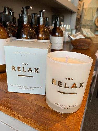 And Relax Candle