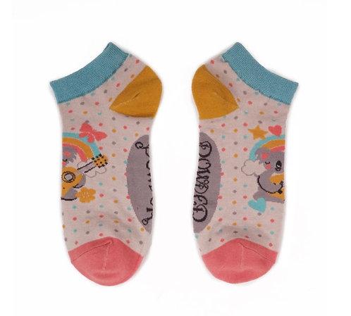 Singing Koala trainer socks