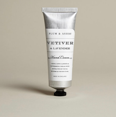 Vetiver & Lavender Hand Cream