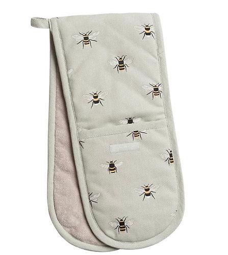 Double oven glove - bee