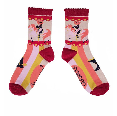 Cowgirl ankle socks
