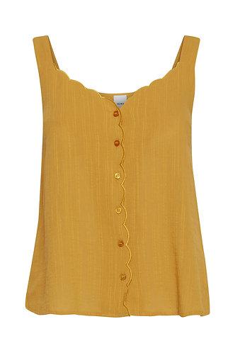 Amber Top - Golden Yellow