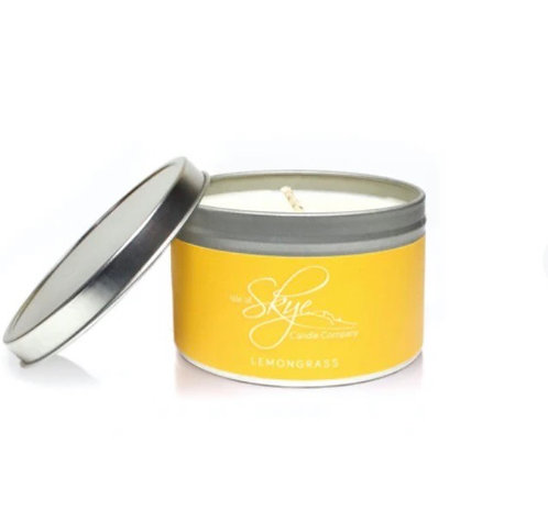 Lemongrass tin candle