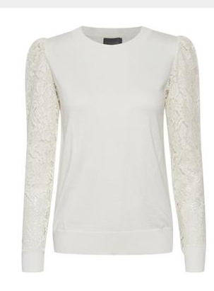 Annemarie Lace Pullover