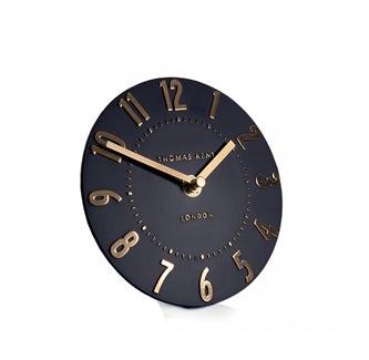 "6"" Mantle Clock- Onyx"