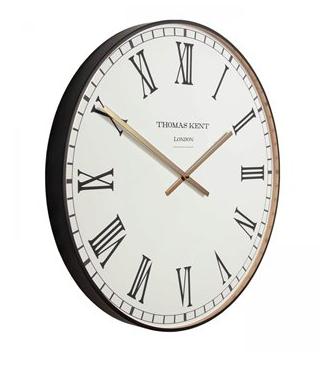 "21"" Clocksmith Brass Wall Clock"