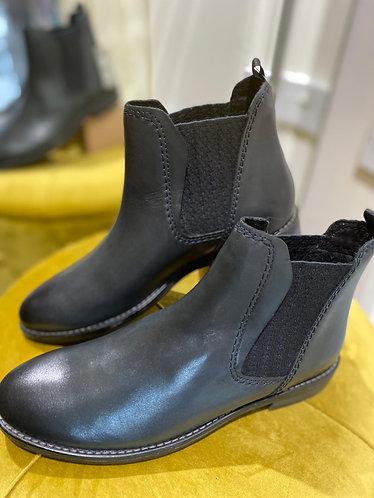 Marco Tozzi - Navy antic boot