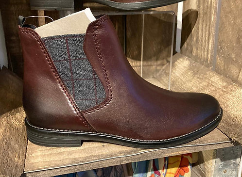 Marco Tozzi - burgandy boot