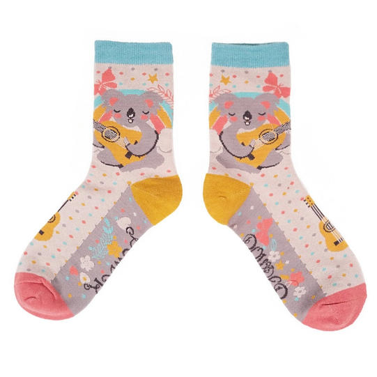Singing Koala Socks