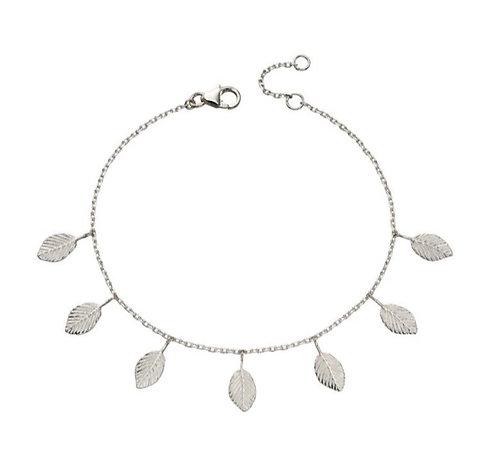 Multi leaf charm Bracelet
