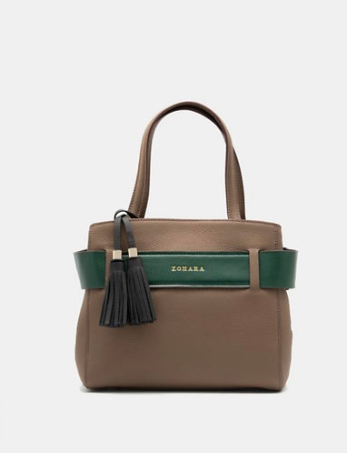 Zohara Barmouth Handbag - Taupe