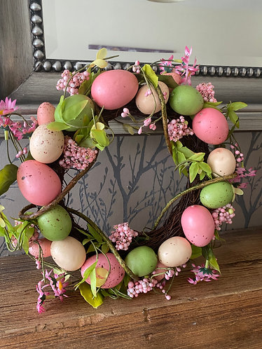 Egg Wreath - 30cm