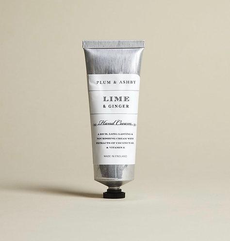 Lime & Ginger Hand Cream