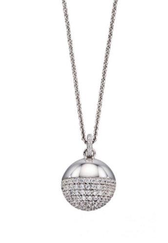 Pave Ball Pendant