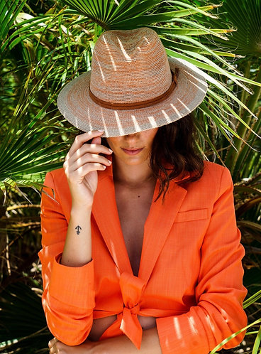 Natalie Hat - Tangerine