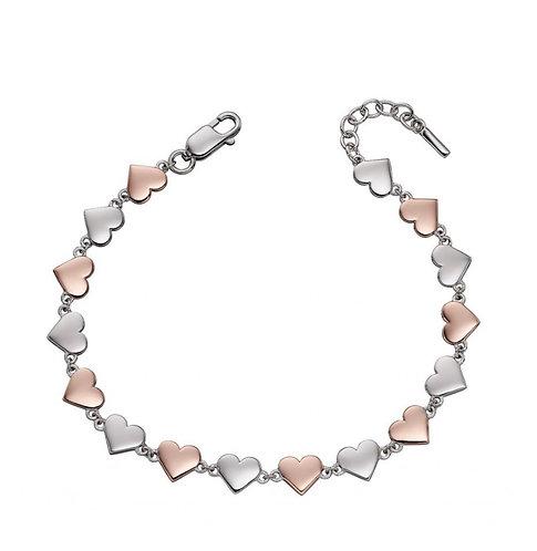 Fiorelli Rose Gold & Silver Bracelet