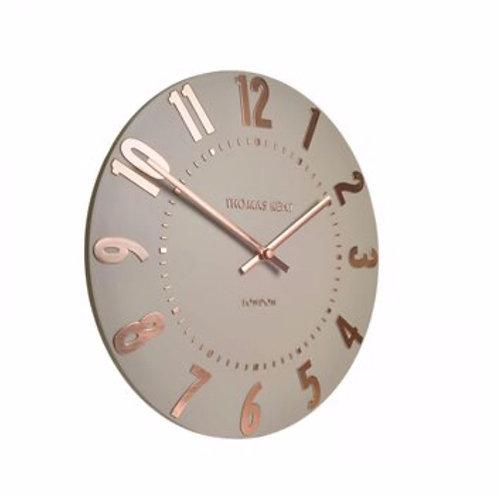 "6"" Mantel Clock - rose gold"