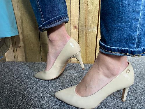 S Oliver Nude heels