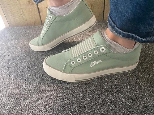 S. Oliver slip on - light green