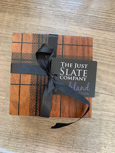 Set of 4 Coasters - highland collection