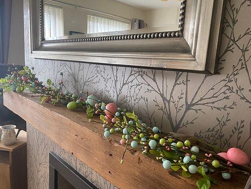 Pearlescent garland - 120cm