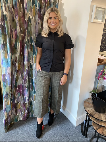 Kate grid trousers