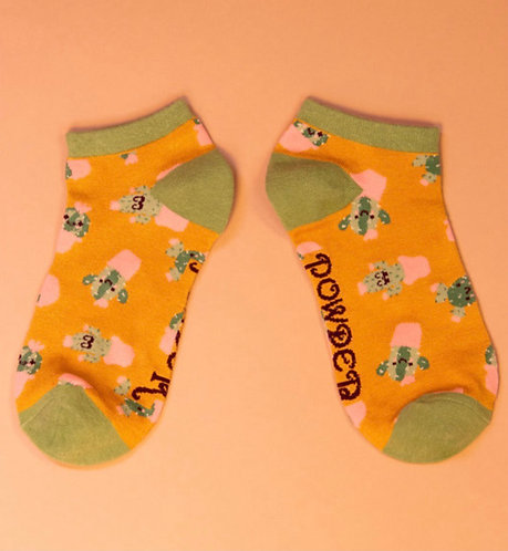 Happy cacti trainer socks