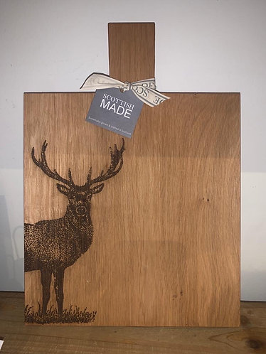 Paddle board - etched stag