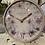 "Thumbnail: 5"" Mantle Clock- dusty pink"