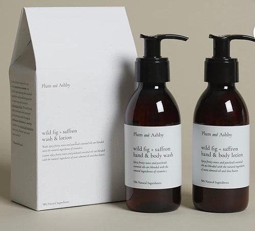 Duo gift wild fig & saffron