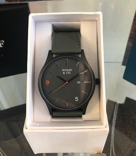 Wolff & Co Watch (Grey strap & grey face)