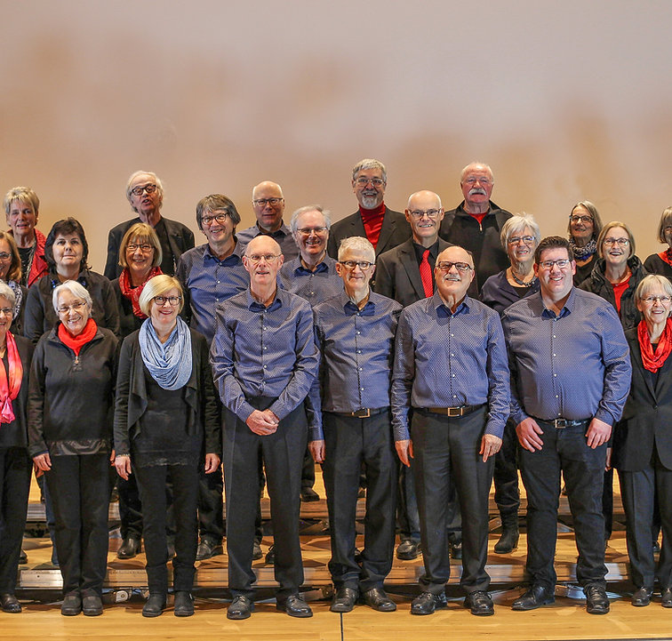 Gruppenbild coro veloce und ensemble calmando