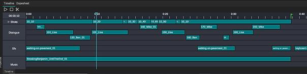 Imput Audio tracks
