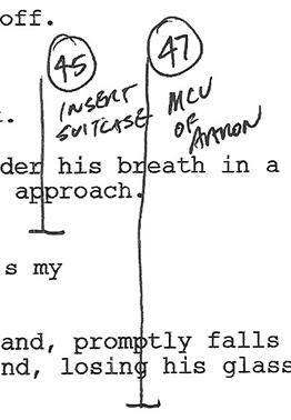 Reframing your script into scenes
