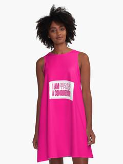 I Am More Than A Conquerer - A Line Dress