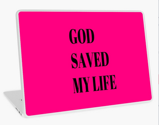 Life Saver Laptop Skin