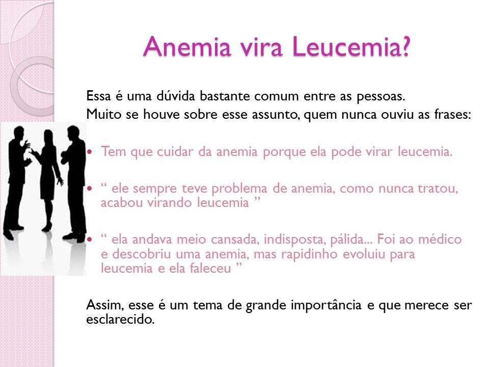 anemia xq da