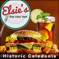 Elsie's Restaurant and Bar in Caledonia Minnesota. Eatery, Food, Hamburgers, burgers, beakfast, lunch, dinner, banquet room
