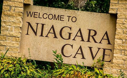 Niagara Cave Sign