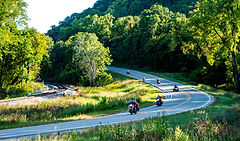 Image of Great River Road: Minnesota, Mississippi River Trail, and Minnesota Trunk Highway 26 North Signs