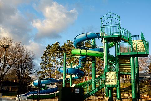 La Crescent Aquatic Center Slide