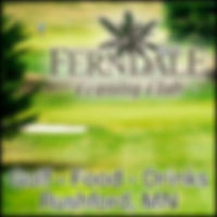Fernadale Country Club in Ruhford Minnesota. Golf, Golfing, Restaurant, Bar, Grill, Food, Dining, Drinks, League