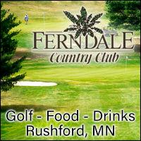 Fernadale Country Club in Ruhford Minnesota. Golf, Golfing, Restaurant, Bar, Grill, Food, Dining, Drinks, League