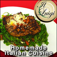 Il Luigi Italian Restaurant in Rushford Minnesota. Fine Dining Pasta Wine Eatery Homemade Fresh