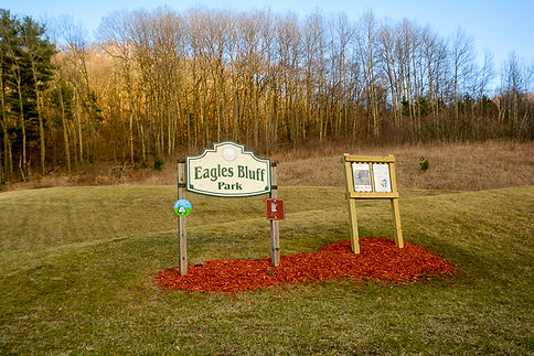 Eagles Bluff Park Sign