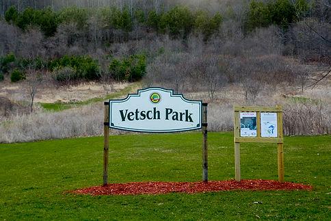 Vetsch Park Sign